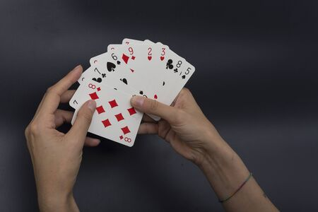 pecuniary: card player, waste money