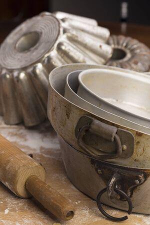 cookware: Vajilla para pastelería Foto de archivo