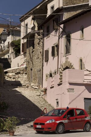 aftermath: Accumoli (amateur), 08292016 - earthquake aftermath in Italy