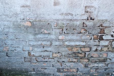 pared rota: Textura de la pared quebrada