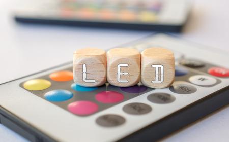 acronym: LED-Cube Acronym On LED Remote