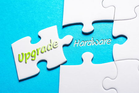 The Words Upgrade And Hardware In Missing Piece Jigsaw Puzzle