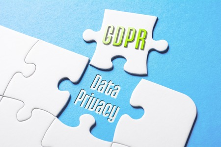 The Words GDPR And Data Privacy In Missing Piece Jigsaw Puzzle