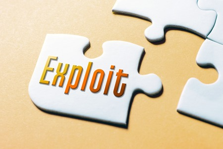 The Word Exploit In Missing Piece Jigsaw Puzzle