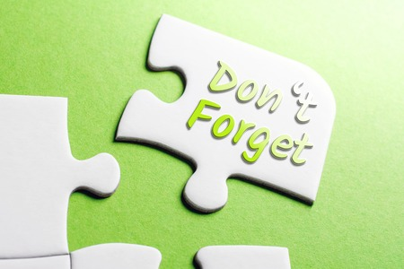 The Words Dont Forget In Missing Piece Jigsaw Puzzle