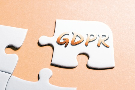 The Word GDPR In Missing Piece Jigsaw Puzzle