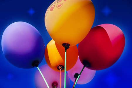 noisemaker: Balloons  Stock Photo