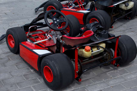 carting: the racing card on a outdoors track