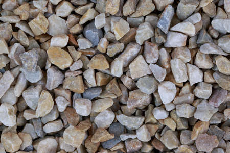 inclusions: the background of a spilled crushed granite