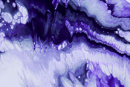 Abstract acrylic paint background in violet tone