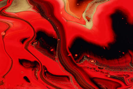 An abstract picture of a luxury red and sparkles gold