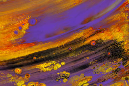 Abstract background of acrylic paints in color tones Banque d'images - 130722815