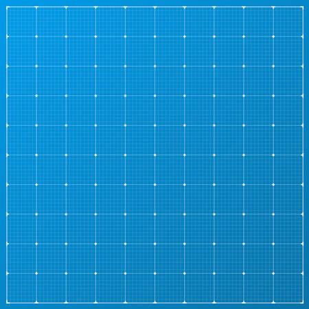 Wide blueprint background. Square blueprint background. Vector stock illustration.