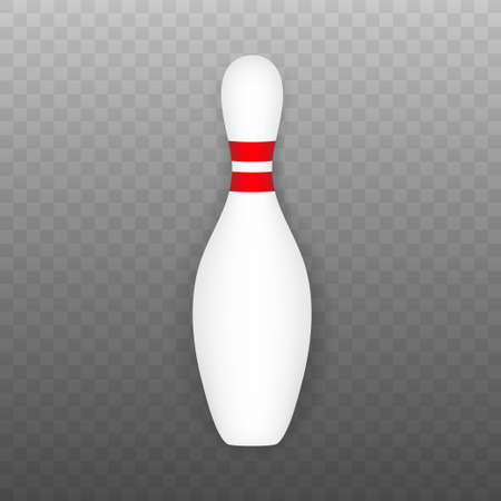 Bowling poster. Bowling game leisure concept. Vector stock illustration 일러스트