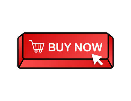 Buy now icon. Shopping Cart icon. Vector stock illustration