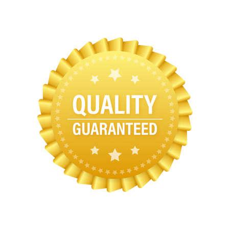 Quality guaranteed. Check mark. Premium quality symbol. Vector stock illustration Vector Illustratie