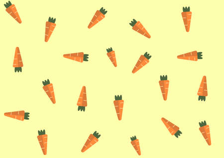 Wallpaper yellow striped orange carrots. Can be utilized in various media.