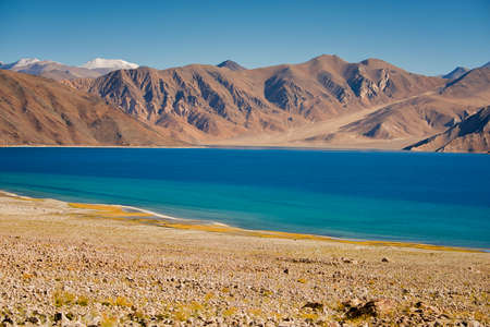 Pangong Lake Leh Ladakh ,India photo