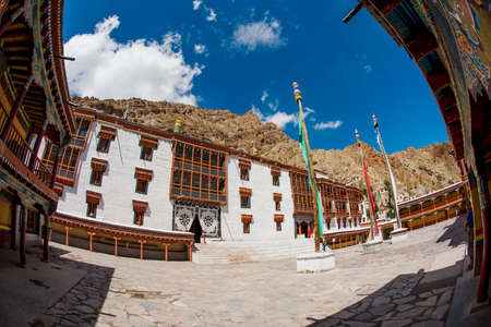 gompa: Hemis monastery and blue sky Leh Ladkh ,India