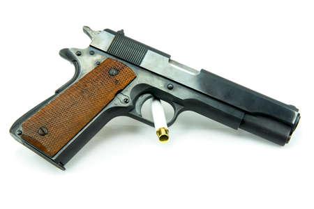 �lite: M1911 Colt governo della Serie 80 Mark IV Delta Elite Archivio Fotografico