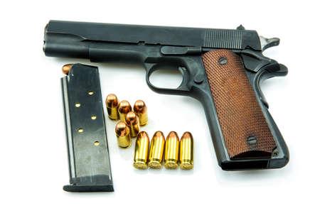 semi automatic: Colt Mark IV Delta Elite series80 government m1911