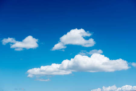 cumulus: Nice blue sky and cloud Stock Photo