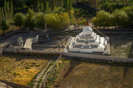 ladakh: Stupa near Shey palace Leh Ladakh ,India.