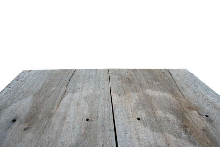 white wood floor: wood floor isolated on white background.