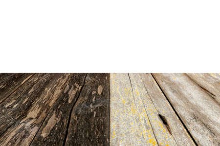 white wood floor: wood floor isolated on white background.