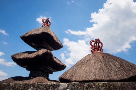 pura: Besakih complex Pura Penataran Agung , hindu temple of Bali, Indonesia.