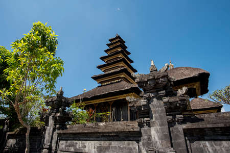 pura: Besakih complex Pura Penataran Agung ,Hindu temple of Bali, Indonesia. Stock Photo