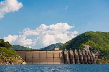 bhumibol: Bhumibol dam Tak Province ,Thailand. Stock Photo