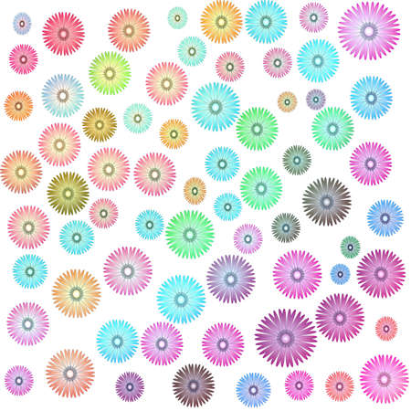 Flower of background on white background Stock Photo - 15029284