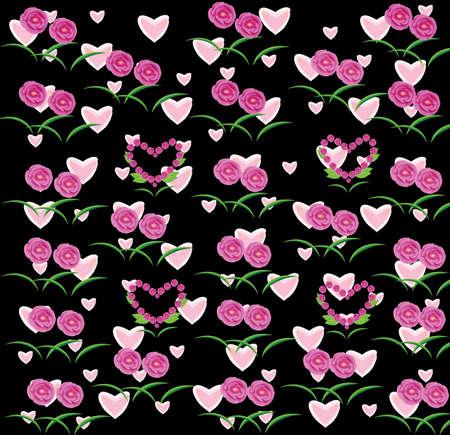 Rose van het frame op de achtergrond Stockfoto