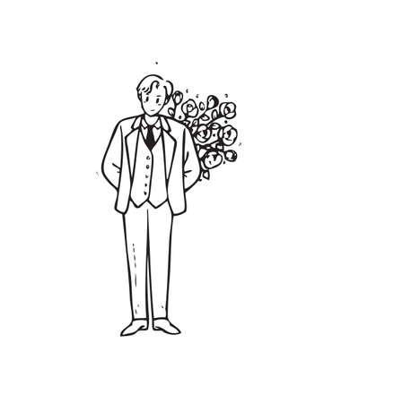 Cartoon of frame Stock Photo - 19624425