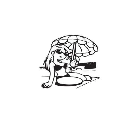 Cartoon of frame Stock Photo - 19624431