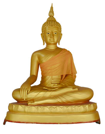 Statue of buddha in bodh gaya in watphakoeng thailand Stock Photo