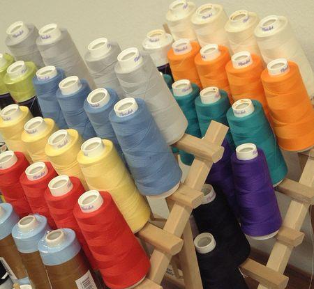Choices of Thread Stok Fotoğraf