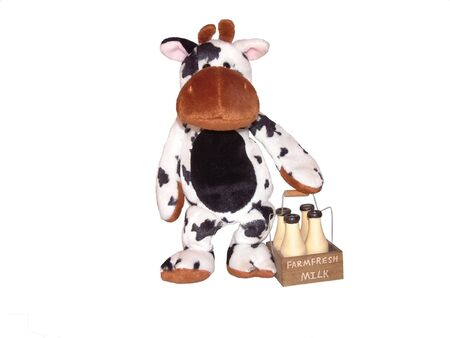 milkman: milkman cow early deliveries Stock Photo