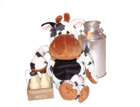 milkman: milkman cow sits for a while