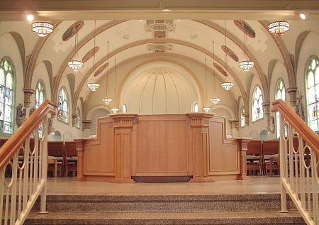 entryway: Entryway to Church Sanctuary