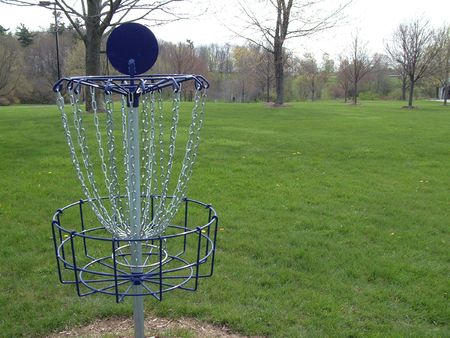disc golf: Disc Golf Basket