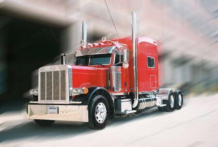 red truck: Keep On Truckin
