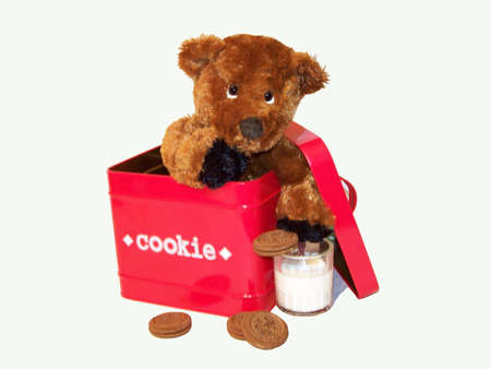 クッキーの瓶で逮捕