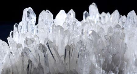 Druze rock crystal Stock Photo