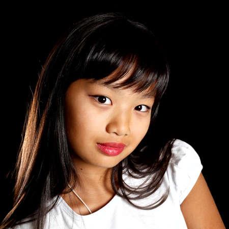 Portr�t einer sch�nen asiatischen Lizenzfreie Bilder