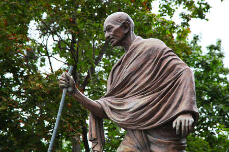 Mahatma Gandhi  The monument in Moscow, Russia
