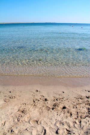 Das Meer und der Sandstrand