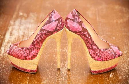 Frauenschuhe rosa High Heels