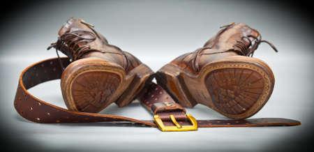 modische Schuhe handgemachte Lederg�rtel mit Schnalle. Italienische handgefertigte Schuhe